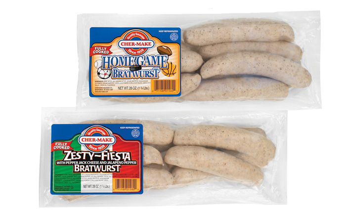 Cher Make Fully Cooked Home Game And Zesty Fiests Bratwursts